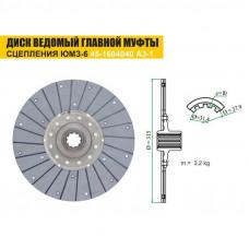 Диск сцепления ЮМЗ-6 главной муфты производство ТАРА