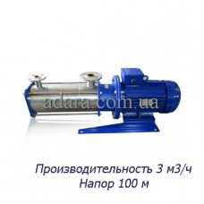 Насос ЦНС 3-100 центробежный секционный (ЦНС-3/100) пищевая нержавеющая сталь