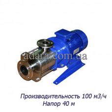 Насос ЦНС 100-40 центробежный секционный  ( ЦНСк 100/40 ) пищевая нержавеющая сталь
