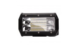 Фара LED дополнительная 24W, 24 лампы узкий луч <ДК>