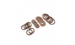 Набор медных шайб для ремонта топливной системы МТЗ-80, ЮМЗ-6, СМД (20 шт)