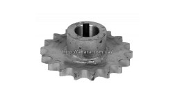 Звездочка заднего контрпривода 18 зубов, шаг цепи 19 диаметр 30 мм